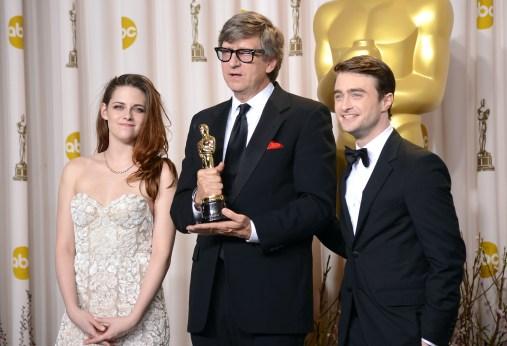 Kristen Stewart à la 85eme cérémonie des Oscars -La Press Room 11