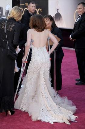 Kristen Stewart à la 85eme cérémonie des Oscars - Le Red Carpet 008