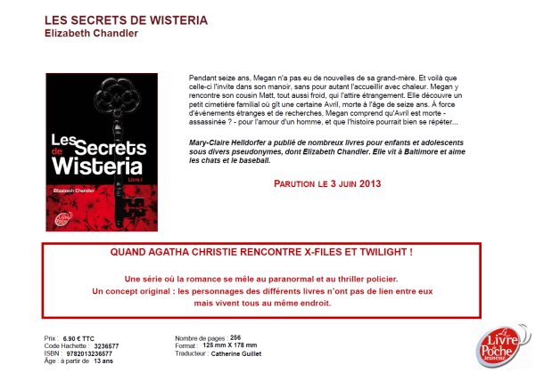 Les Secrets de Wisteria