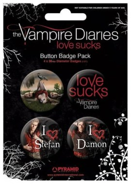 lot concours st valentin -badge-bouton-vampire-diaries-love-sucks