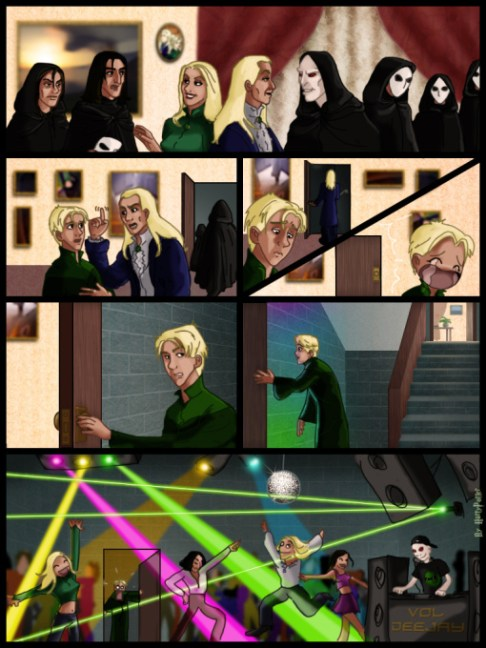 De Meeting At The Malfoys by Harry Potter Spain