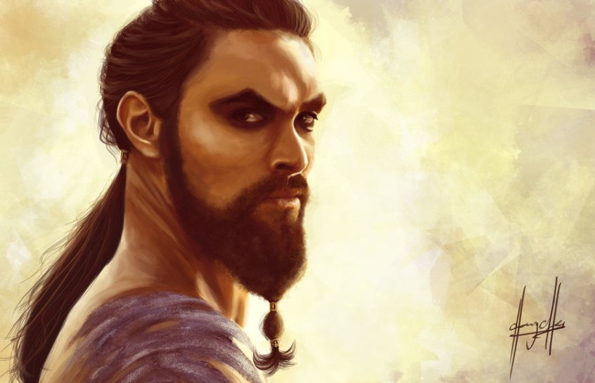 game_of_thrones__khal_drogo_by_charychu-d4wye7v