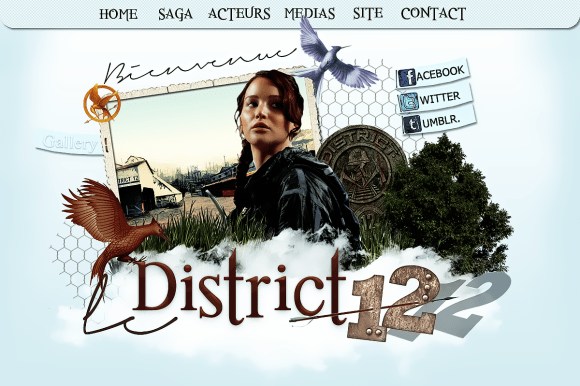 Créas Bannière du blog : Le District 12 Copyright SevyL