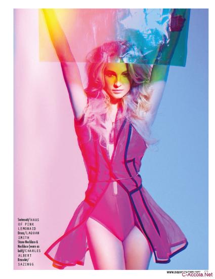 Candice Accola pour Nouveau Magazine 01