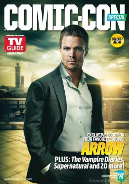 Arrow - Stephen Amell - Comic Con 2013