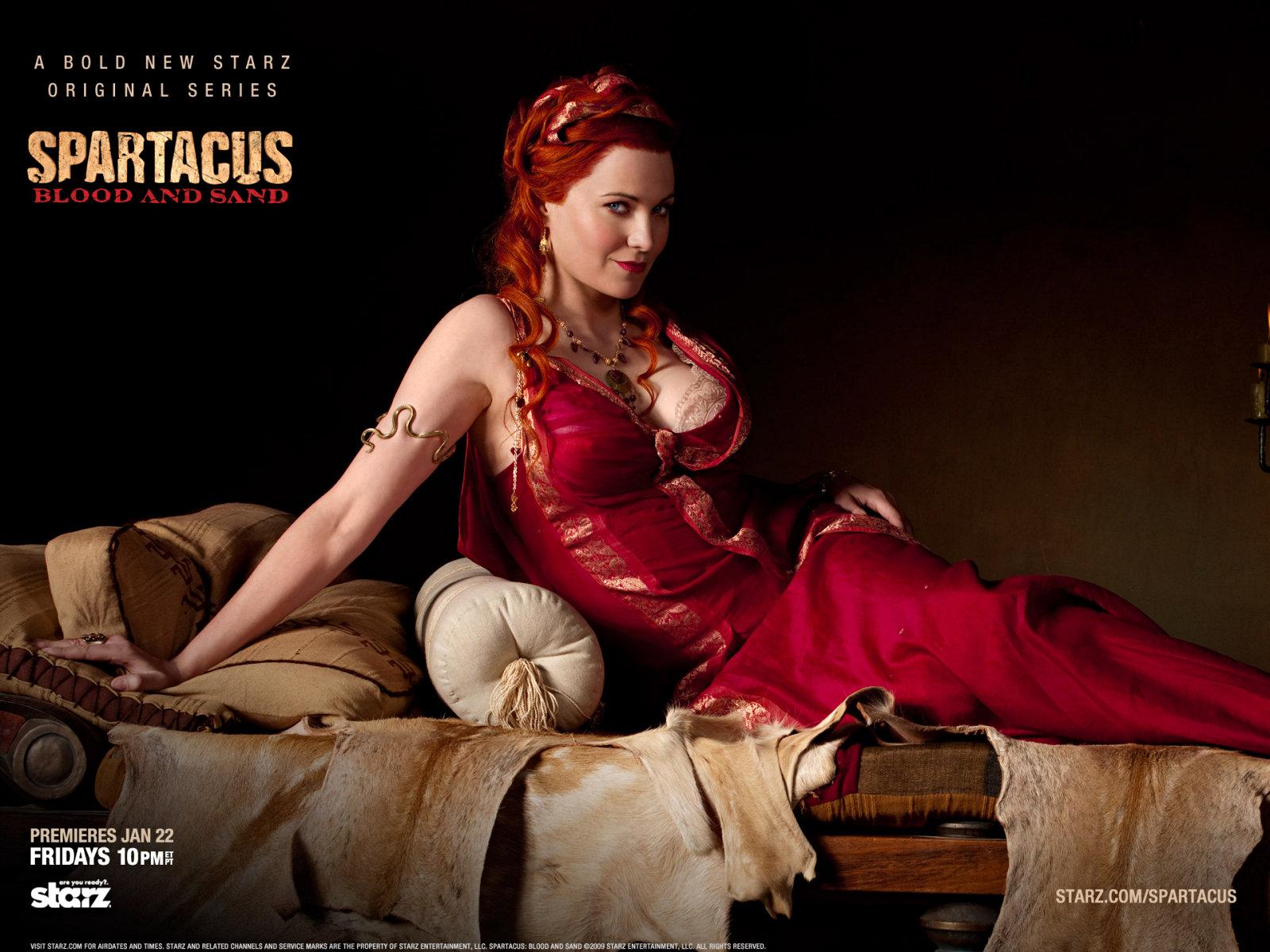 Lucretia - Spartacus - Le Sang des Gladiateurs