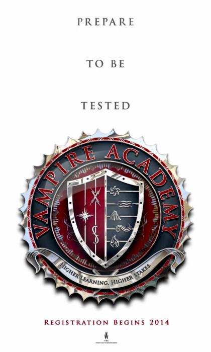 Vampire Academy Poster Officiel du film