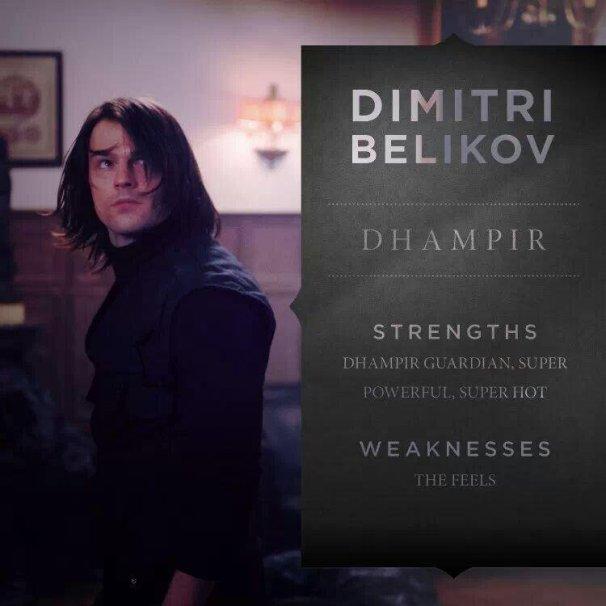 Vampire Academy- Dimitri Belikov
