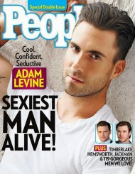 ADAM LEVINE IS PEOPLE MAGAZINES SEXIEST MAN ALIVE 1