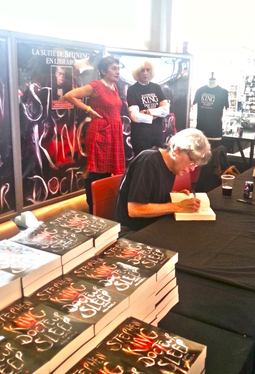 Stephen King - 13-11-2013- MK2- Bibliotheque- 18