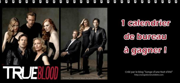 concours noel 5 calendrier true blood
