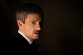 John avec moustache