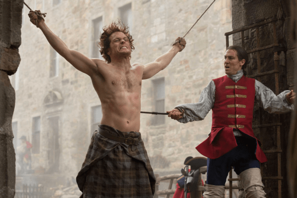 Outlander - Jamie Fraser et Jack Black Randall