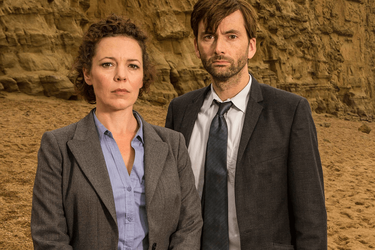 Broadchurch - David Tennant et Olivia Colman 1