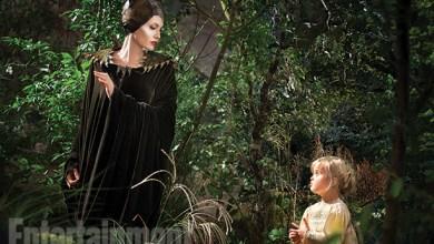 Photo de La fille d'Angie joue Aurore dans Maléfique !