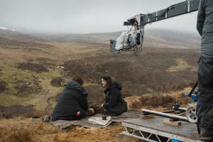 Outlander - Caitriona Balfe et Sam Heughan
