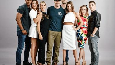 Photo de Présence des acteurs d'Arrow au Comic-Con