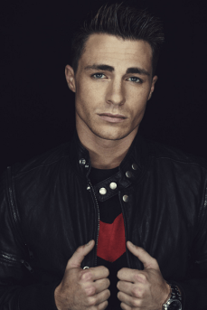 Arrow Warner Bros. Portraits - Colton Haynes