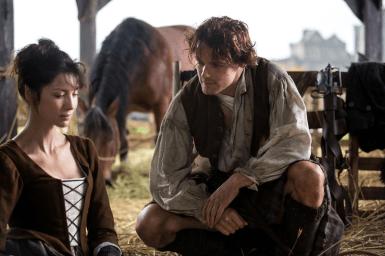 Outlander - Jamie Fraser et Claire Randall