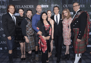 Outlander Premiere - Groupe