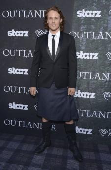 Outlander Premiere - Sam Heughan