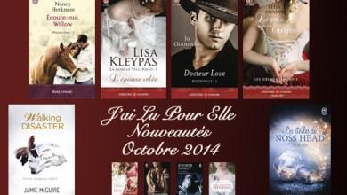 Photo of Les Nouveautés J'ai Lu Pour Elle d'Octobre 2014