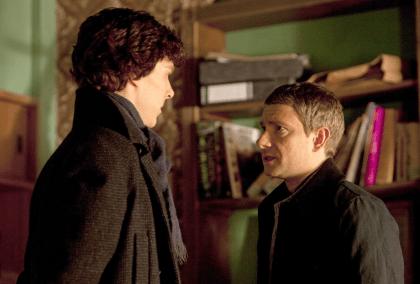 Sherlock - Saison 1 - Stills