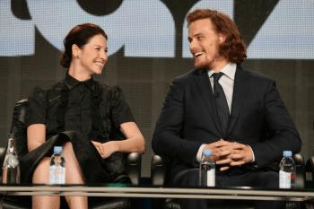 Outlander TCA 2015 - Caitriona Balfe et Sam Heughan