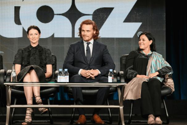 Outlander TCA 2015 - Caitriona Balfe, Sam Heughan et Diana Gabaldon