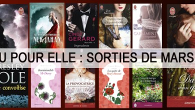 Photo of J'ai Lu Pour Elle : Sorties de Mars 2015