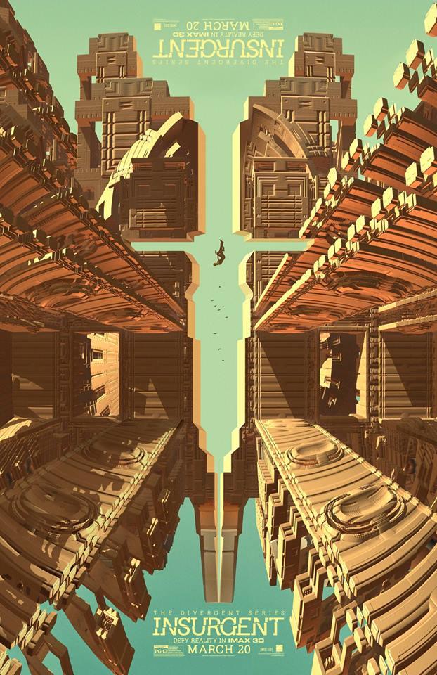 Divergente 2 - poster imax