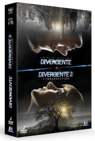 DVD divergente 1 et 2