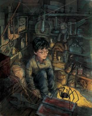 Harry Potter à l'école des sorciers - Version Illustrée - de J.K.Rowling+2