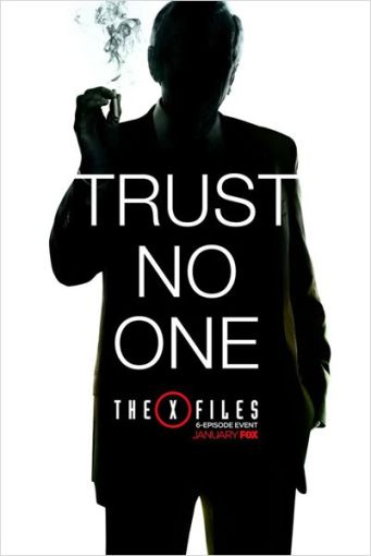 X Files saison 10 poster 2