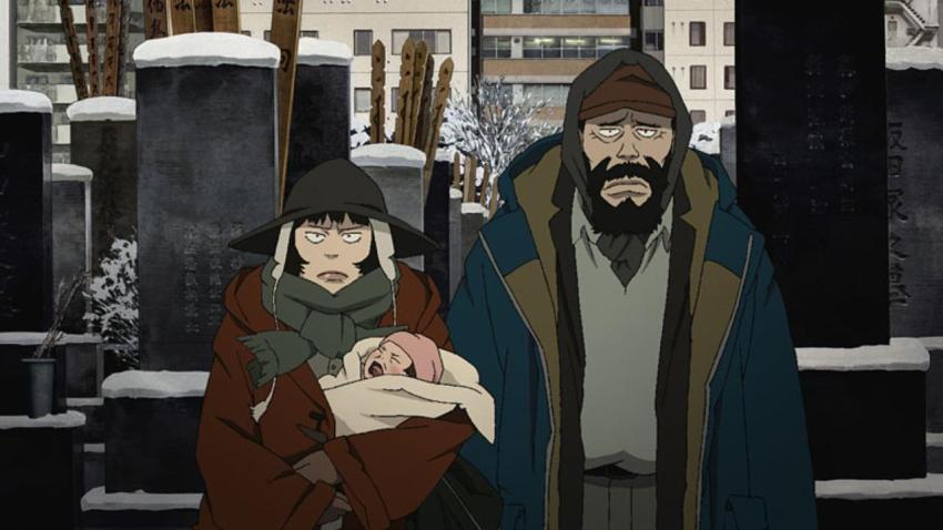 Tokyo Godfathers de Satoshi Kon & Shôgo Furuya+2