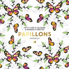 Petit livre à colorier - Papillons
