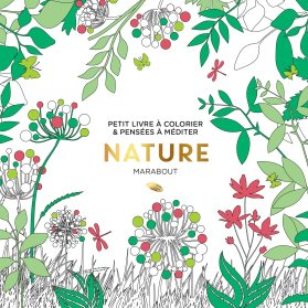 Petit livre à colorier - Nature