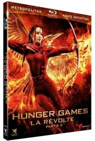 Blu ray Hunger Games - La révolte partie 2