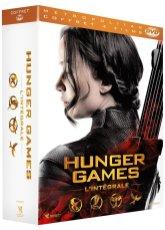 Coffret DVD Hunger Games l'intégrale