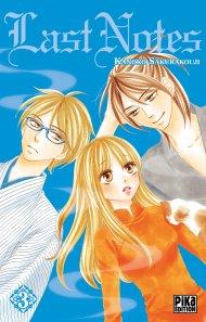 Last Notes tome 3 de Kanoko Sakurakouji