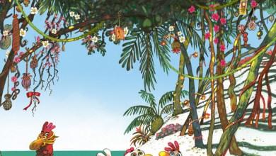 Photo de Les P'tites Poules sur l'île de Toutégratos de C. Jolibois et C. Heinrich