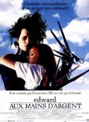 Edward aux mains d'argent - affiche