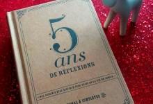 Photo de 5 ans de réflexion, le livre à compléter [Idée cadeaux #11]