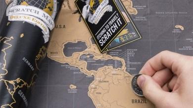 Photo de La carte du monde à gratter [Idée cadeaux #3]
