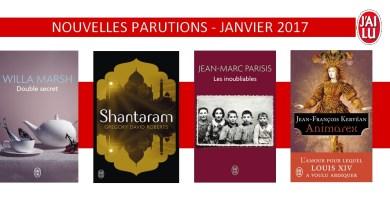 Photo of Les Sorties J'ai Lu pour Janvier 2017 !
