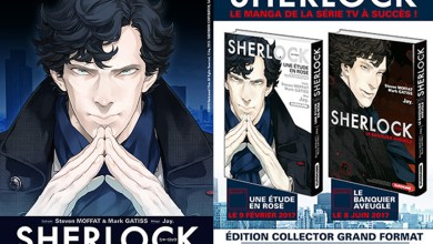 Photo de Sherlock débarque en février en version Manga !