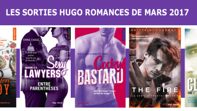 Photo de Les Sorties Hugo Romances de Mars 2017