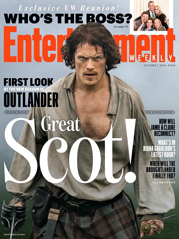 Outlander EW cover oct 2016 - Jamie