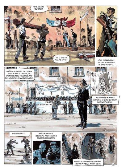 Ma guerre de La Rochelle à Dachau de Oger Tiburce et G.P. Gautier planche 3
