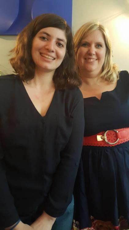 Rencontre au top avec Carène Ponte au Café Fauve le 23 Mai 2017